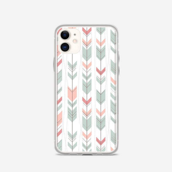 Arrow Pattern iPhone X Case