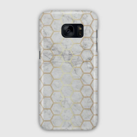 Honeycomb Marble Samsung Galaxy S7 Case