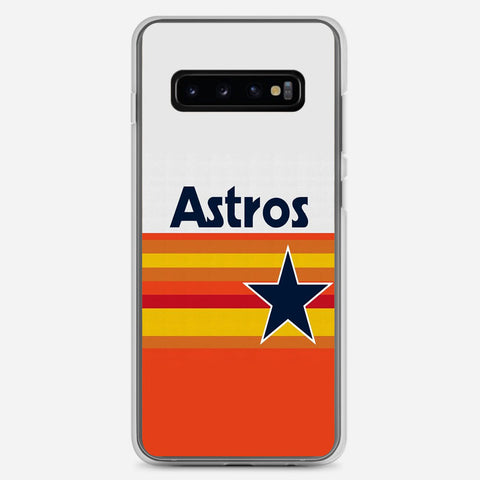 Houston Astros Samsung Galaxy S10 Plus Case