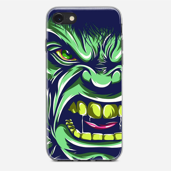 Hulk Face Art iPhone X Case