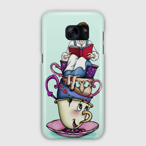 Hungry Designs Teacup Belle Samsung Galaxy S7 Case