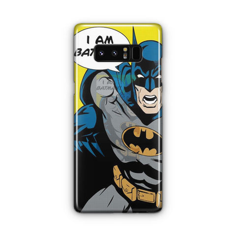 I Am Batman Samsung Galaxy Note 8 Case