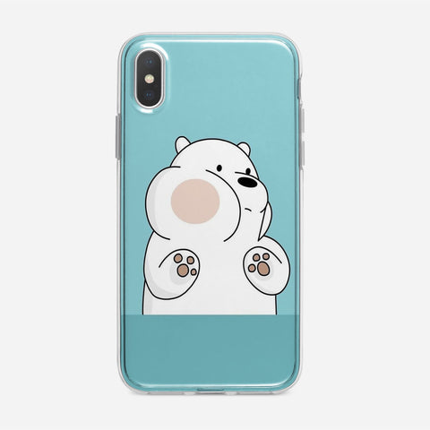 Ice Bear Panpan iPhone XS Case