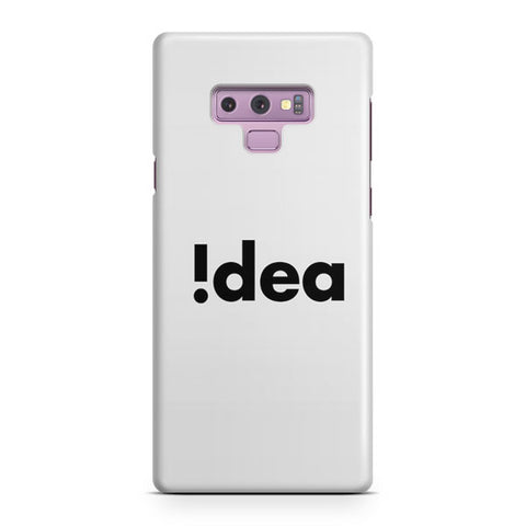 Idea With Creative Design Samsung Galaxy Note 9 Case