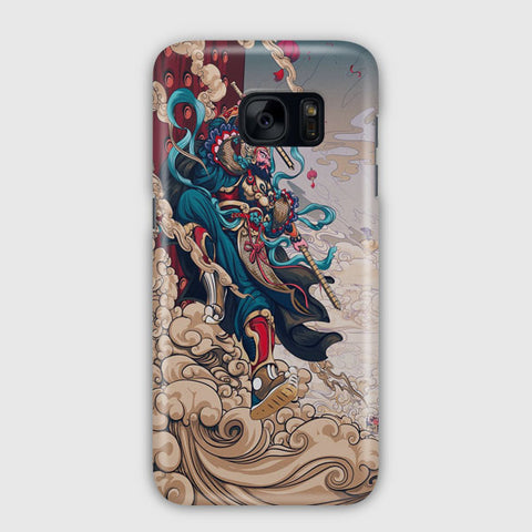 Illustrations Of the New Year Samsung Galaxy S7 Edge Case