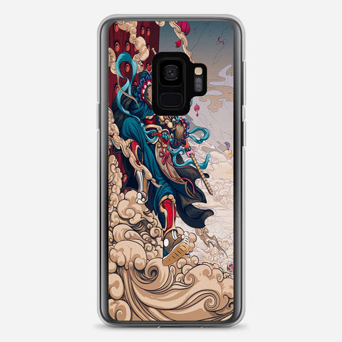 Illustrations Of the New Year Samsung Galaxy S9 Case
