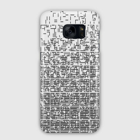 Art And Graphics Plattern Samsung Galaxy S7 Edge Case