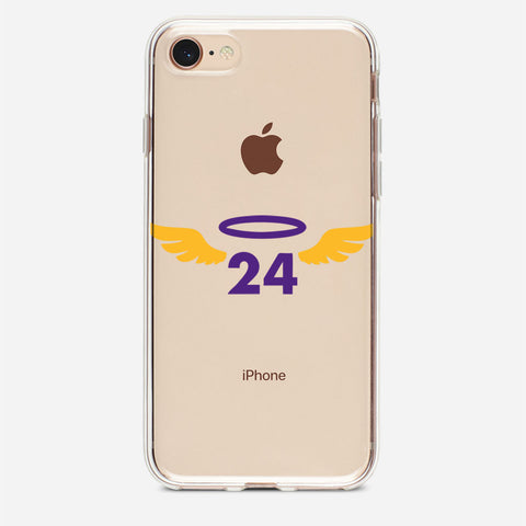 24 Kobe Bryant Rip iPhone 8 Case