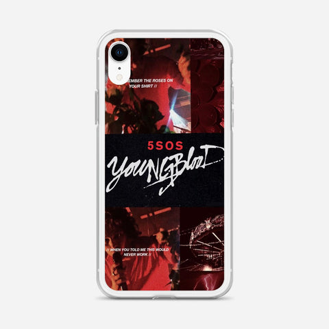 5 SOS Youngblood iPhone XR Case
