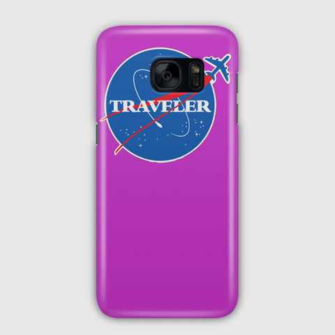 Interstellar Traveler Samsung Galaxy S7 Edge Case