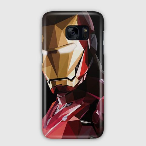 Iron Man Triangle Samsung Galaxy S7 Edge Case