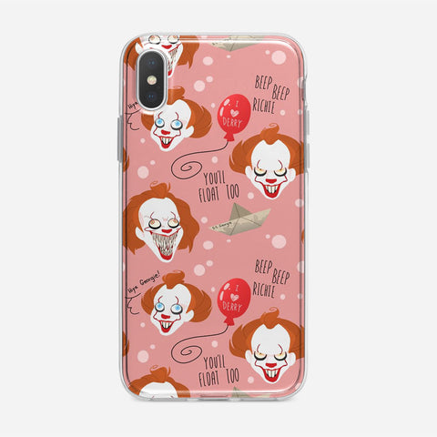 IT Pennywise Artwork iPhone XS Max Case