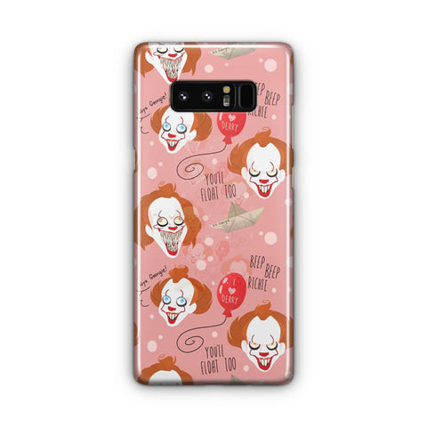 IT Pennywise Artwork Samsung Galaxy Note 8 Case