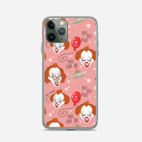 IT Pennywise Artwork iPhone 11 Pro Max Case
