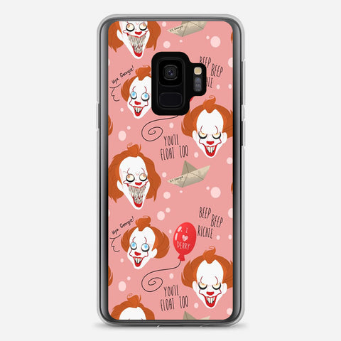 IT Pennywise Artwork Samsung Galaxy S9 Case