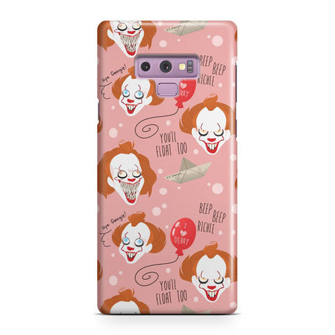 IT Pennywise Artwork Samsung Galaxy Note 9 Case