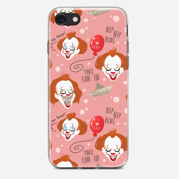 IT Pennywise Artwork iPhone X Case