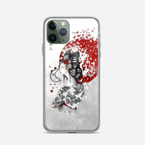Japan Girl Illustration iPhone 11 Pro Max Case