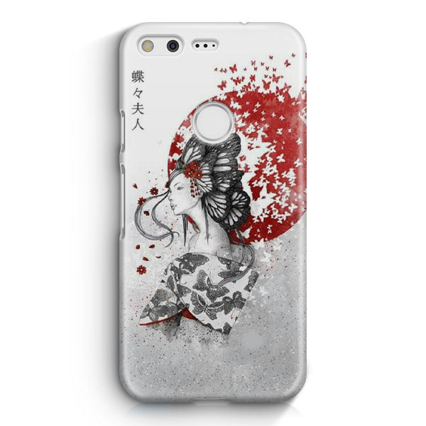 Japan Girl Illustration Google Pixel 2 Case