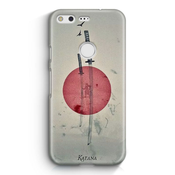 Japan Katana Illustration Google Pixel 2 Case