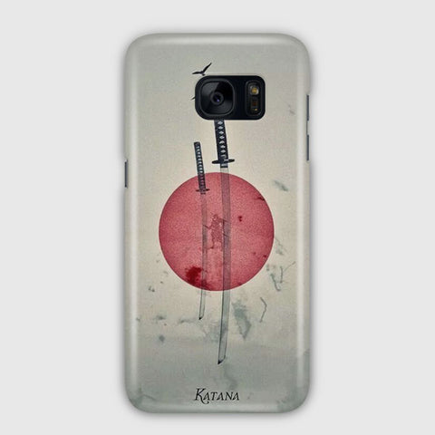 Japan Katana Illustration Samsung Galaxy S7 Case