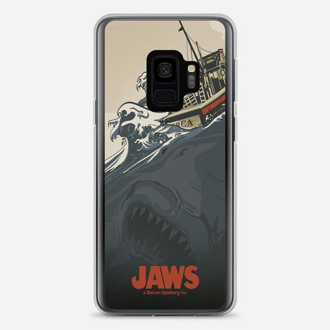 Jaws Vintage Poster Samsung Galaxy S9 Case