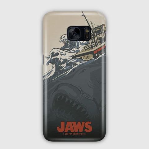 Jaws Vintage Poster Samsung Galaxy S7 Case