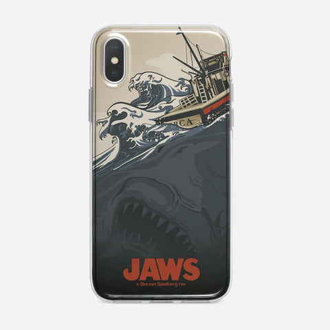 Jaws Vintage Poster iPhone XS Max Case