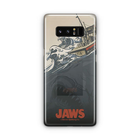 Jaws Vintage Poster Samsung Galaxy Note 8 Case