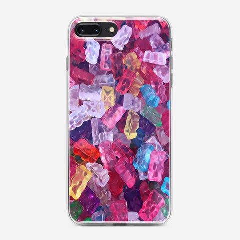 Jelly Colored iPhone 7 Plus Case