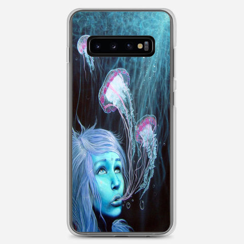 Jellyfish Girl Samsung Galaxy S10 Plus Case