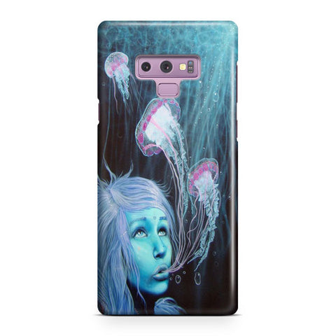 Jellyfish Girl Samsung Galaxy Note 9 Case