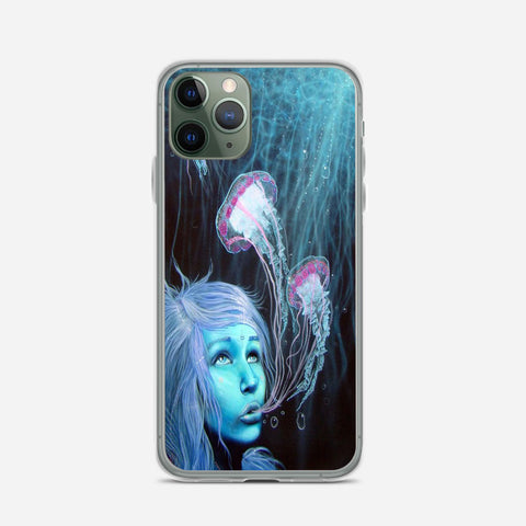 Jellyfish Girl iPhone 11 Pro Max Case