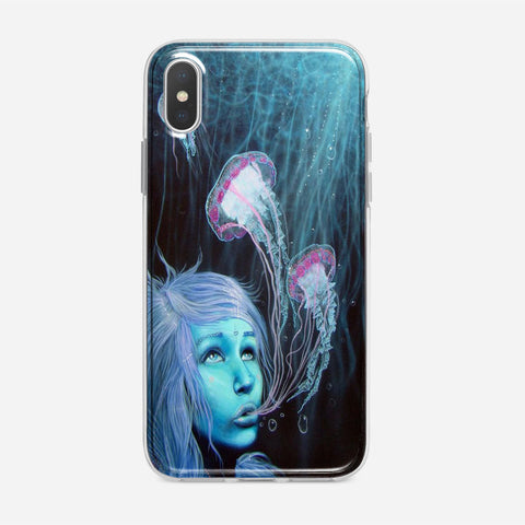Jellyfish Girl iPhone XS Max Case