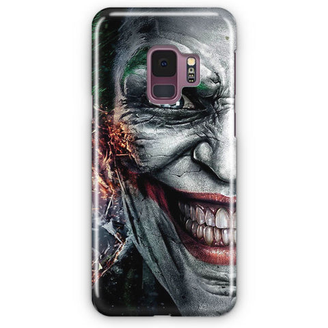 Joker Flaming Samsung Galaxy S9 Case