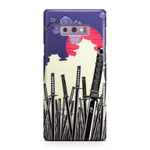 Katana Japan Artwork Samsung Galaxy Note 9 Case