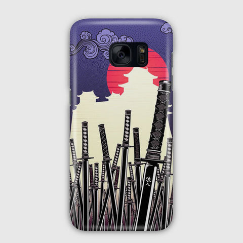Katana Japan Artwork Samsung Galaxy S7 Case