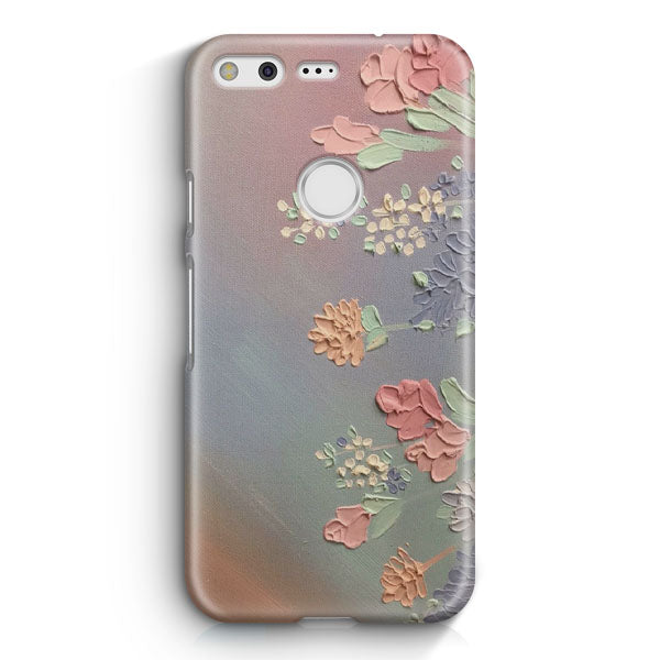 Artsy Retro Vintage Flowers Google Pixel 2 XL Case