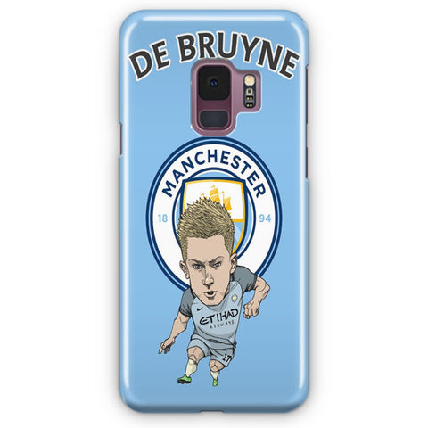 Kevin De Bruyne Fan Art Samsung Galaxy S9 Case
