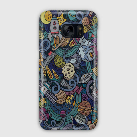 Kocmoc Space Samsung Galaxy S7 Case