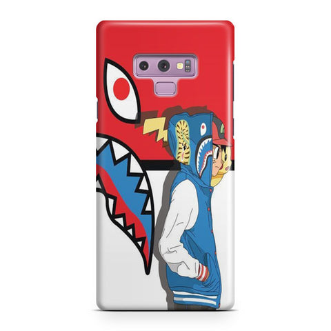 Ash Ketchum And Pikachu Samsung Galaxy Note 9 Case