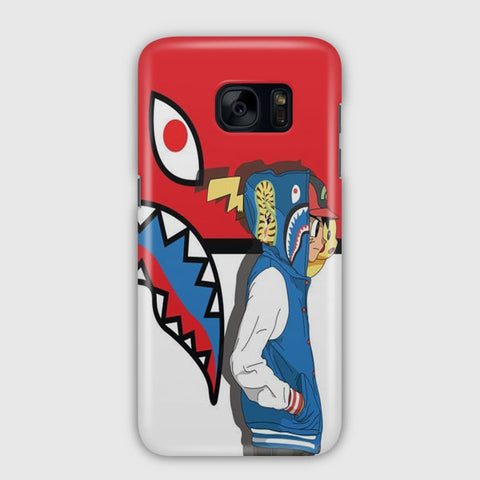 Ash Ketchum And Pikachu Samsung Galaxy S7 Case