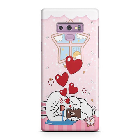 Line Cony Friend Samsung Galaxy Note 9 Case