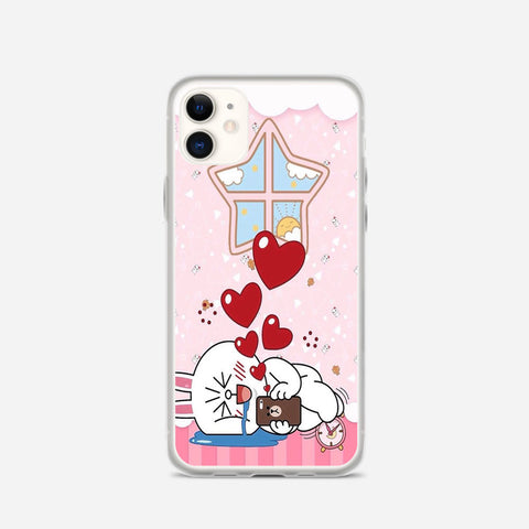 Line Cony Friend iPhone 11 Case