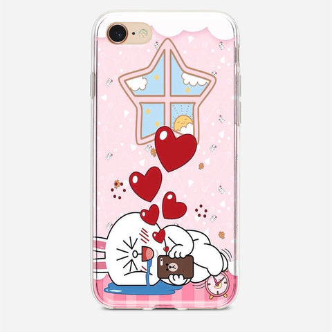 Line Cony Friend iPhone 7 Case