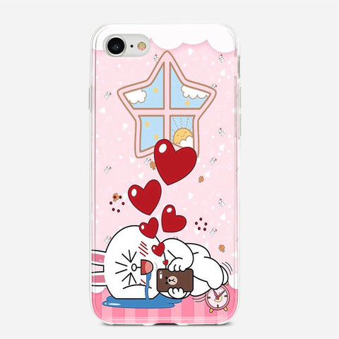 Line Cony Friend iPhone 6S Case