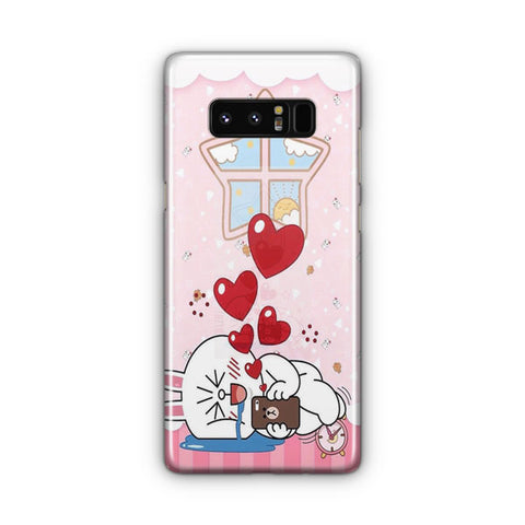 Line Cony Friend Samsung Galaxy Note 8 Case