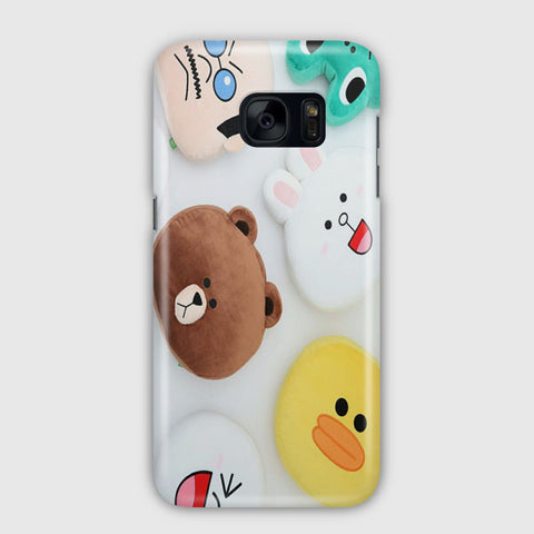 Line Deco Samsung Galaxy S7 Edge Case