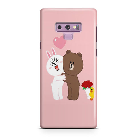Line Friends Samsung Galaxy Note 9 Case