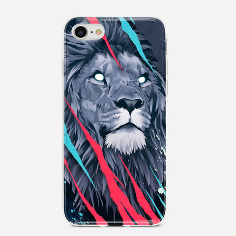 Lion Illustration iPhone 6S Plus Case